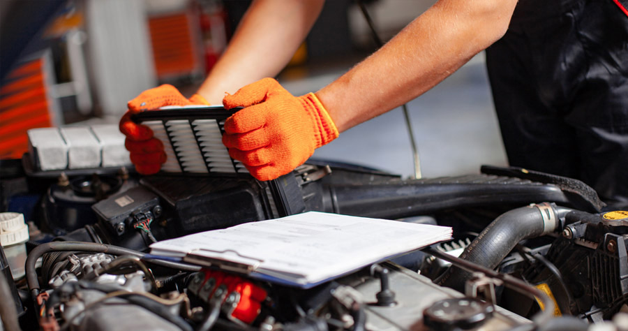 Auto Maintenance Spring