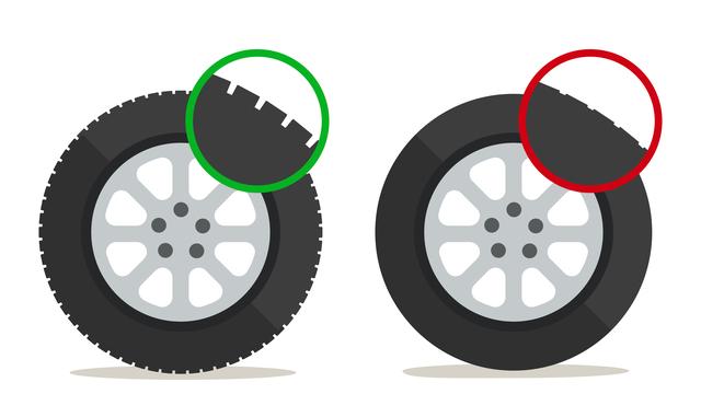 Tires, Tread, Bulges, Air Pressure